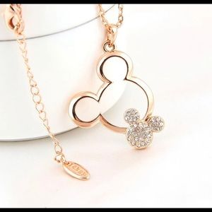 Jewelry - Mickey Mouse Pendant & Chain